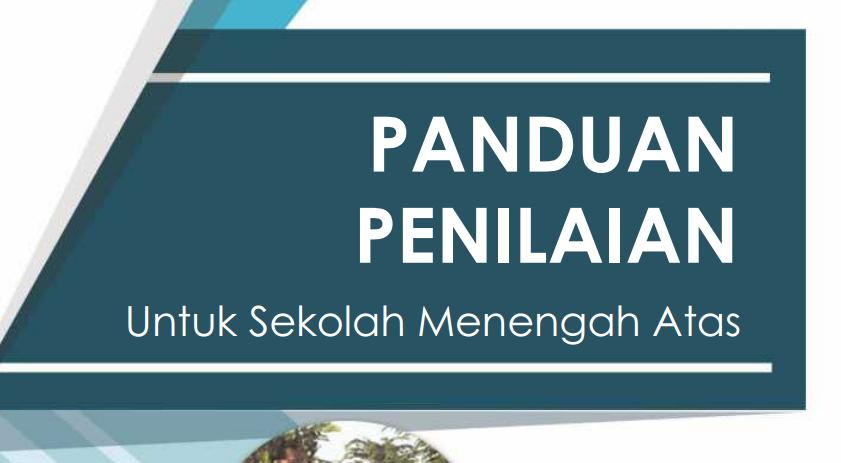 Download Buku Panduan Penilaian untuk Tingkat SMA Tahun Ajaran 2016-2017 Format PDF