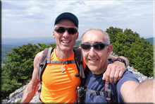 Gorosteta mendiaren gailurra 1.259 m. - 2018ko ekainaren 30an