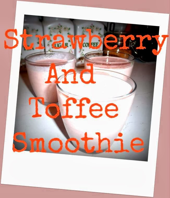 Strawberry And Toffee Smoothie : Creative Mondays