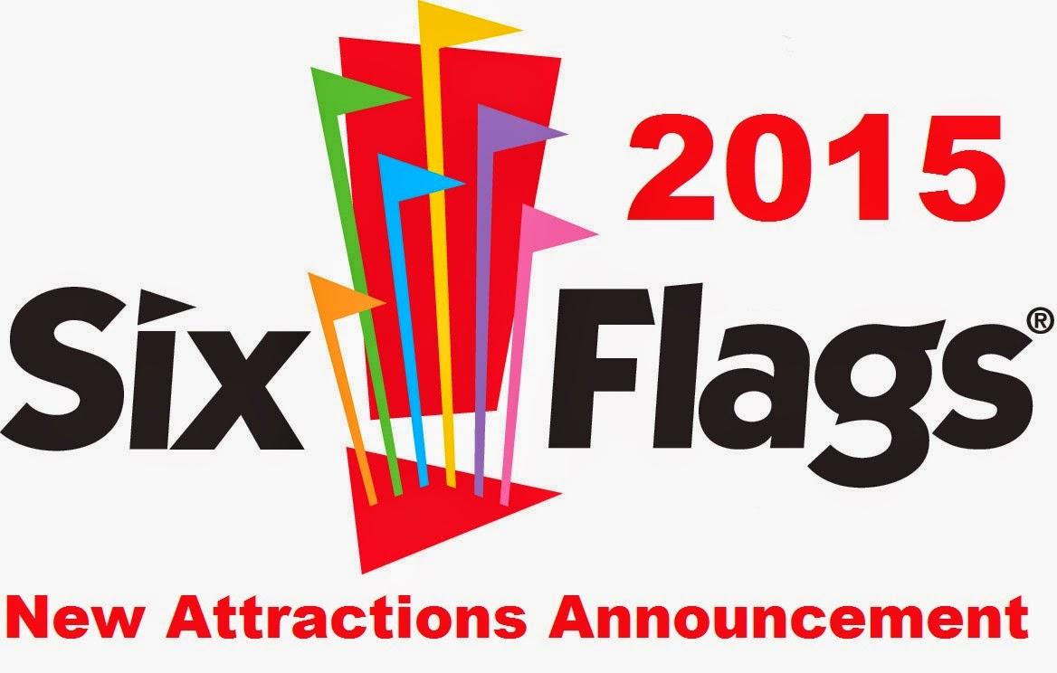 Six Flags 2014 New Ride Attraction Announcement
