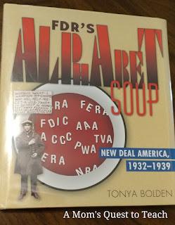 Blog Hop, History, Children's Books, FDR, New Deal