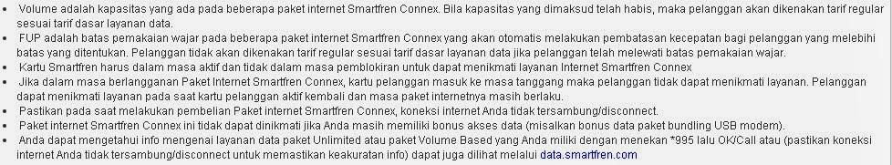 Cara Mendaftar Paket Internet Smartfren