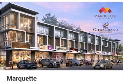 Ruko Marquetta Shophouse,Citragrand Cibubur CBD,Bogor