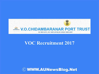 VOC Port Trust Recruitment 2017