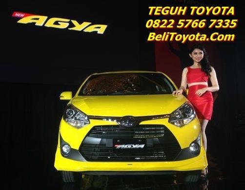 Harga Astra Toyota New Agya Facelift 2017 Surabaya - Jatim