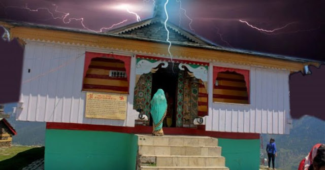 बिजली महादेव मंदिर-हर बारह साल में शिवलिंग पर बिजली गिराते हैं इंद्रदेव