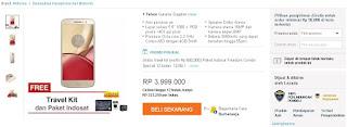 Harga dan promo Motorola Moto M