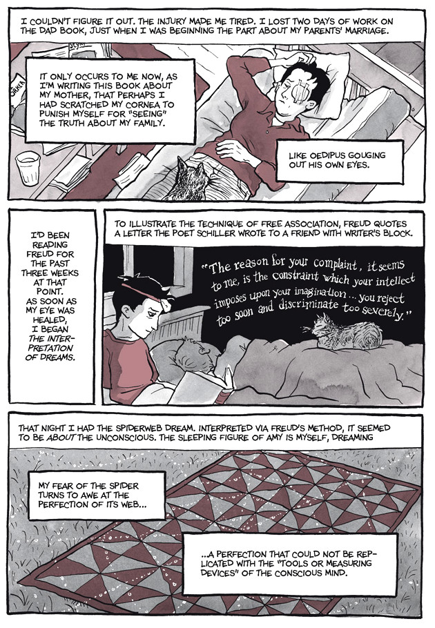 Page 27, Chapter 2: Transitional Objects from Alison Bechdel's graphic novel Are You My Mother