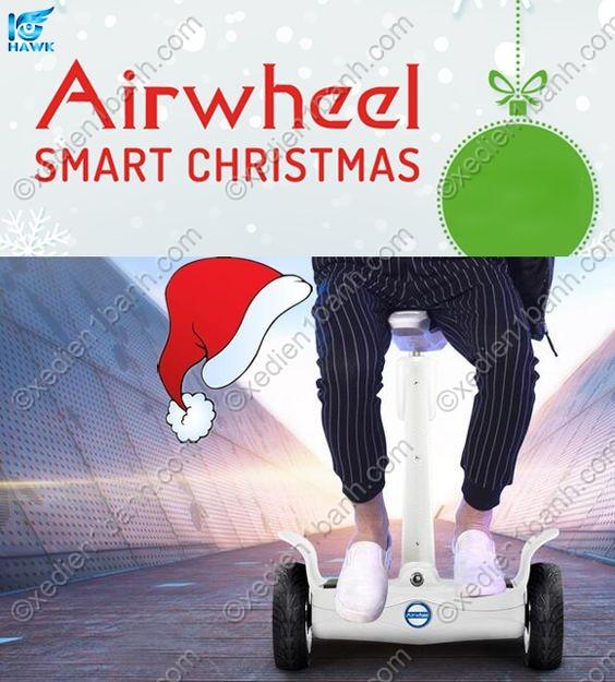 Xe điện ngồi Airwheel S8 – quà tặng hoàn hảo cho gia đình và bạn bè