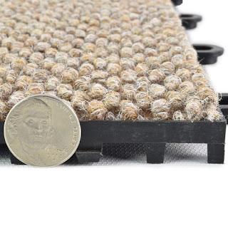 Greatmats CarpetFlex carpet interlocking tiles plastic base