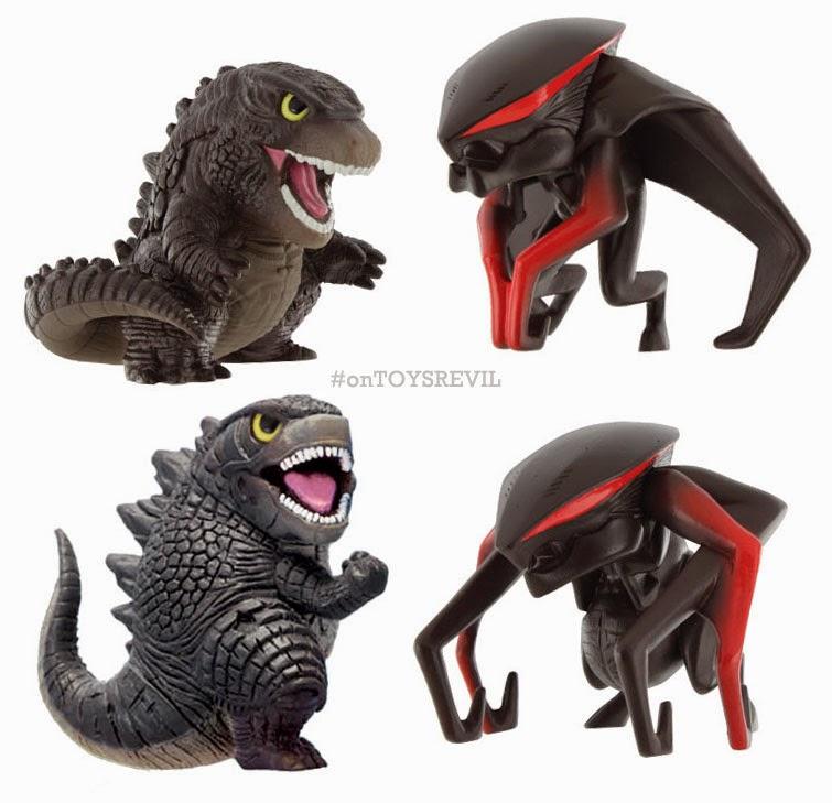 About Those Chibi Godzilla Muto Figures From Bandai