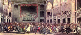Masquerade at the Pantheon from The Microcosm of London Vol 2 (1808-10)
