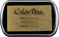 ColorBox Metallic Pigment Inkpad Gold