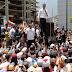 Guaidó anuncia paros escalonados que desembocarán en paro general