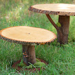 Rustic Wooden Forest Fairy Cake Stand