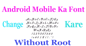 Android Mobile Ka Font Kaise Change Kare - Without Root