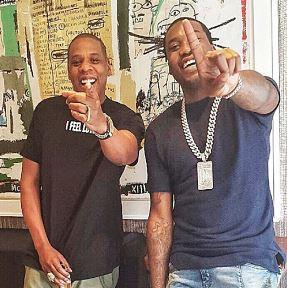 jay meek %2523naijawavez - GLOBAL: Jay Z Reacts To Meek Mill's 2-4 Years Prison Sentence For Violating Probation