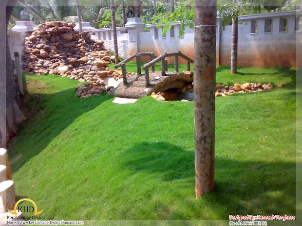 landscaping design ideas - kerala