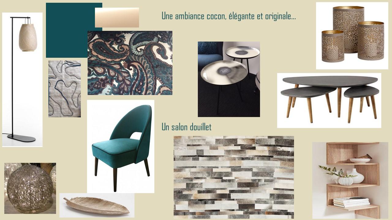 Projet En Cours Pour Couleurs Et Nuances Rénovation Et Décoration - Formation decorateur interieur avec fauteuil a oreille design