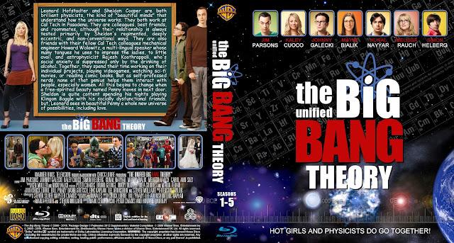 Capa Bluray The Big Band Theory Temporadas 1 A 5