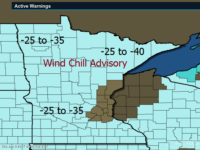 Tim Burrs Weather Blog 34 degrees at Embarrass Minnesota this