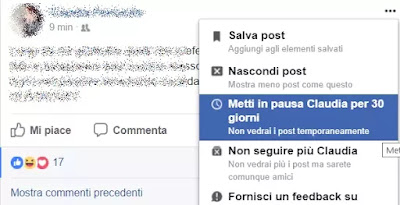 snooze facebook