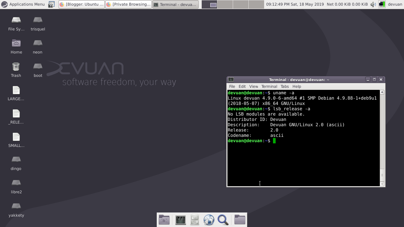 Ubuntu Buzz !: Intro to Devuan GNU+Linux, A Great Operating