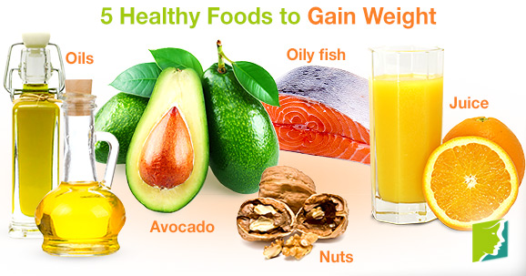 Foods To Eat To Gain Weight Nhs