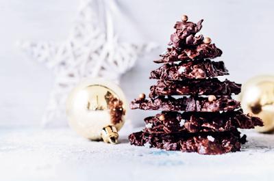 Receita Árvore de Natal de Chocolate