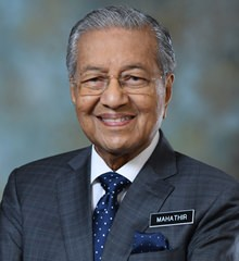 Perdana Menteri ketujuh Tun Dr Mahathir Mohamad Dr M