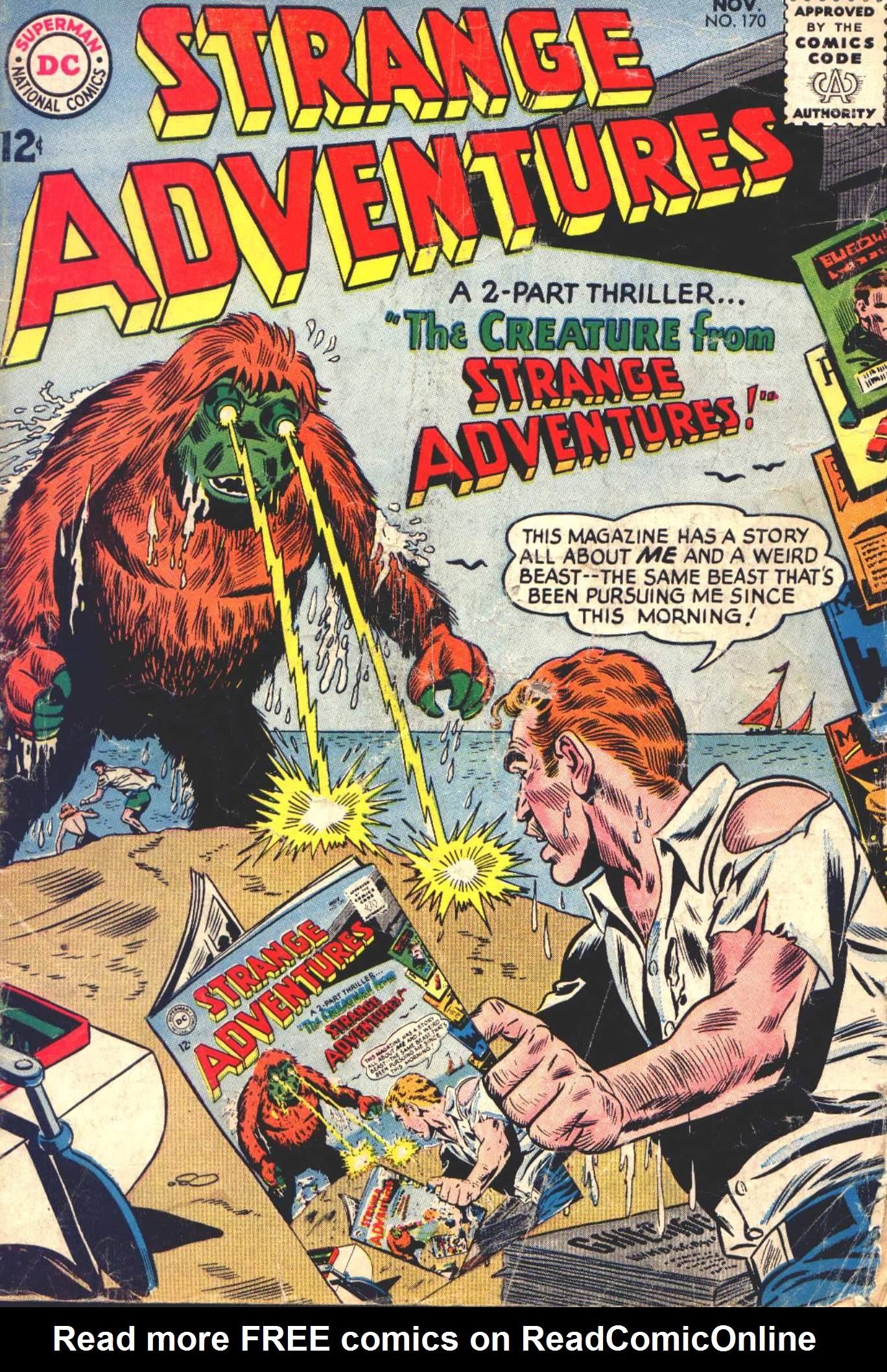 Strange Adventures (1950) issue 170 - Page 1