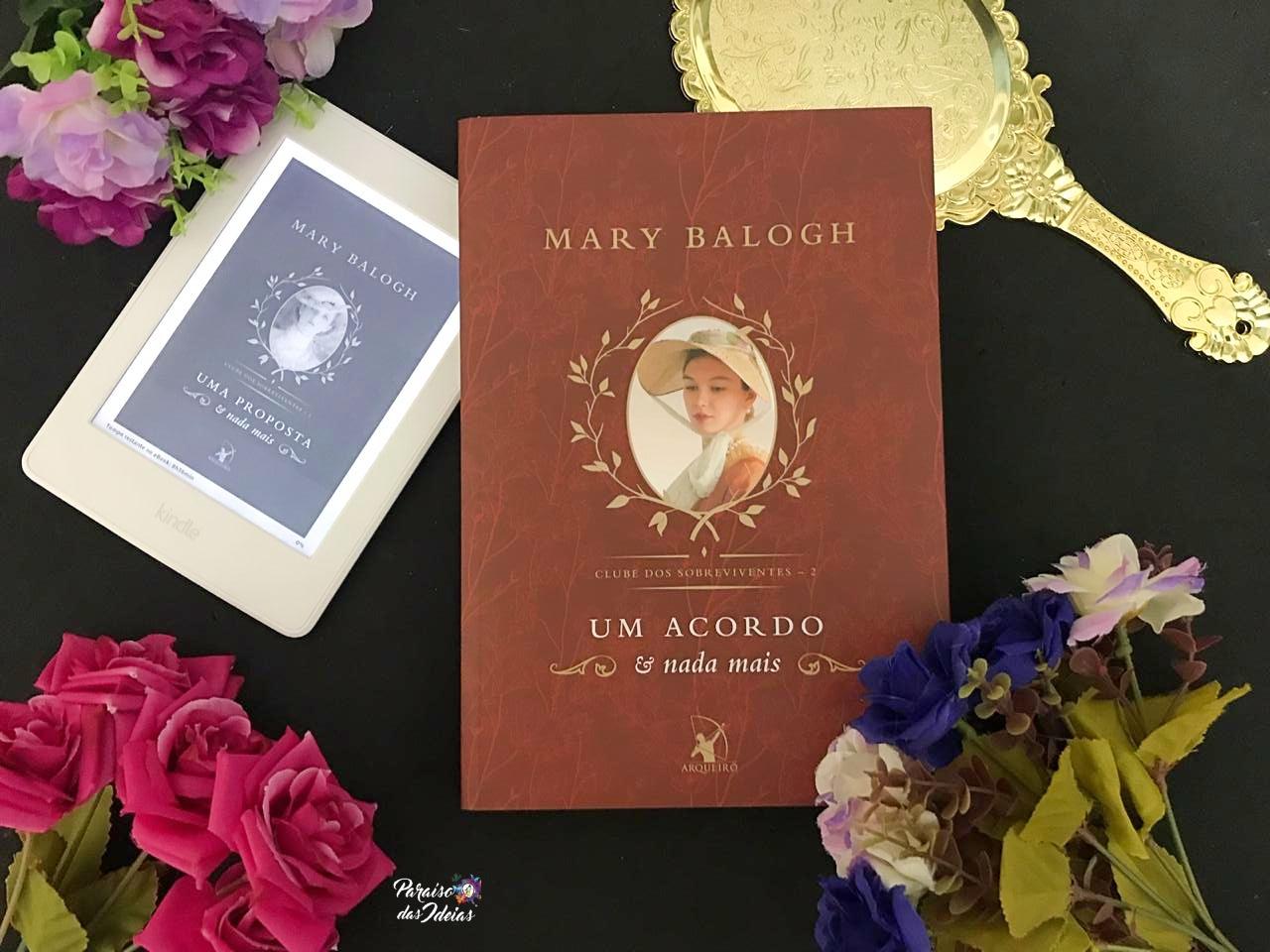 Resenha || Um Acordo e Nada Mais #02 - Mary Balogh