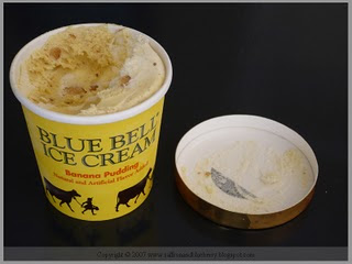 The Blue Bell Review Banana Pudding