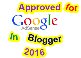 How to got adsense approval for blog in 2016