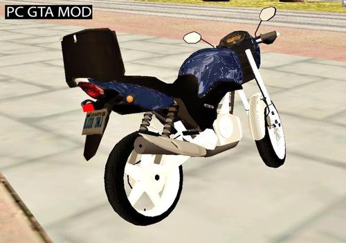 Free Download Honda CG Titan 150 Sporting (Light Version) Mod for GTA San Andreas.
