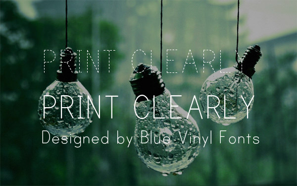 print, clearly, font, gratis