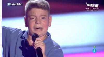 Samuel-Nana del Caballo Grande |  Audiciones a ciegas La Voz Kids