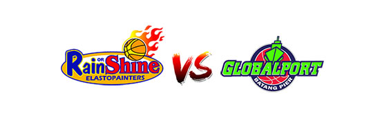 Game 1  Rain or Shine Elasto Painters vs GlobalPort Batang Pier - 4:30pm