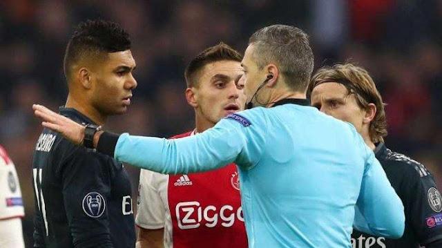 Patroli303 : Leg Pertama Ajax vs Madrid Yang Bikin Kontroversi