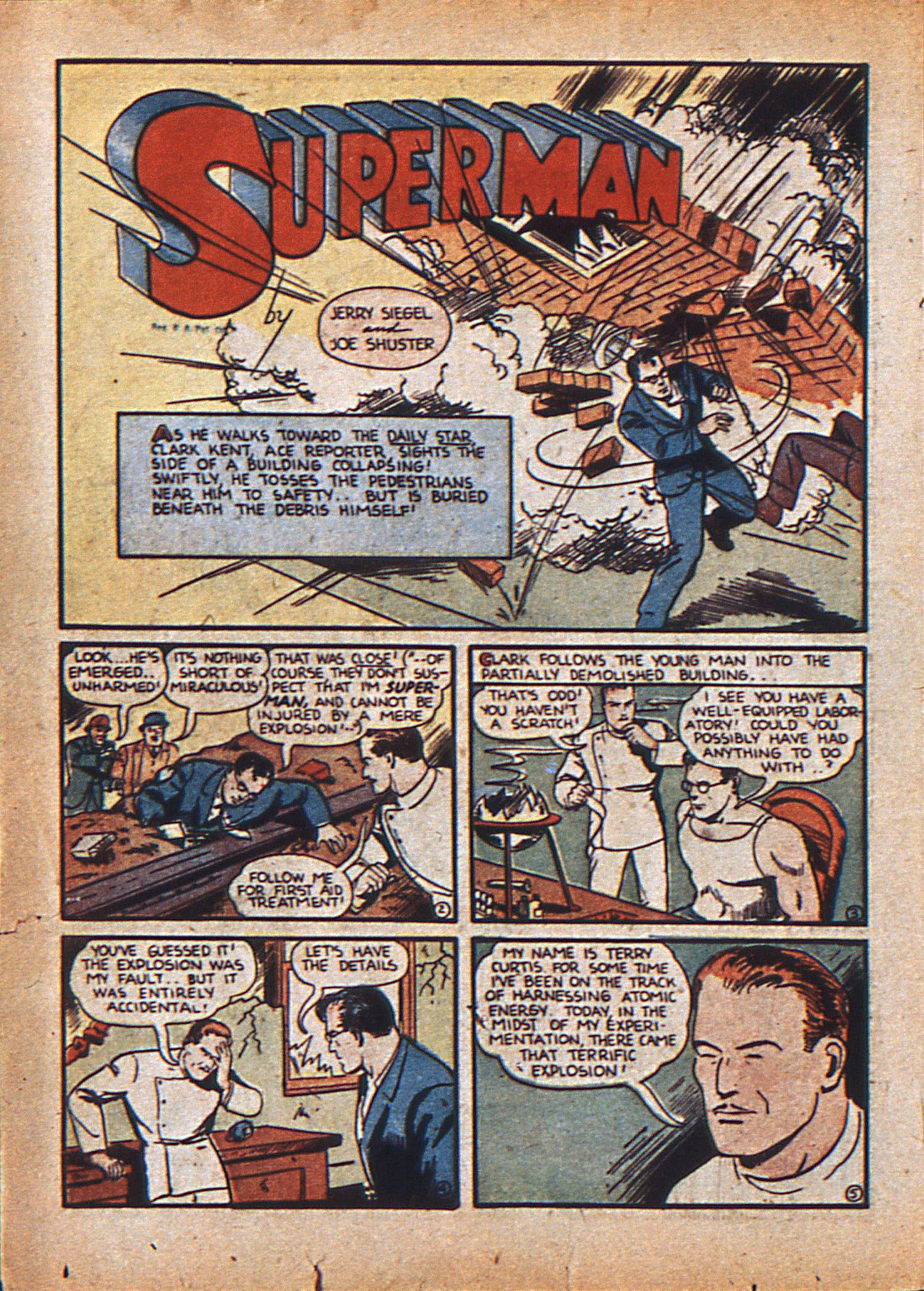 Read online Action Comics (1938) comic -  Issue #21 - 5