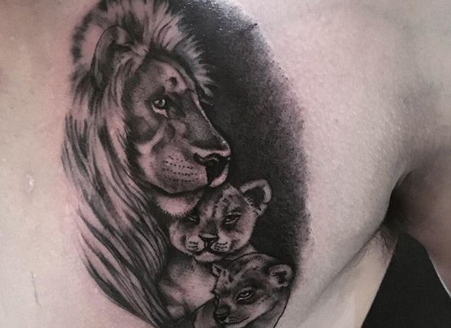 23 Gambar Tato 3d Singa Si Raja Hutan Terbaru Paling Keren Hewan