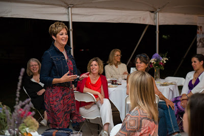 CommonGround Iowa's Ladies Night Out: Banquet in the Field, bring women together to talk food, farming and family, Miriam Erickson Brown keynote speaker