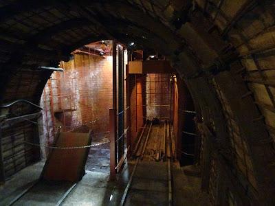 Embarque de la mina visitable de Barruelo de Santullán