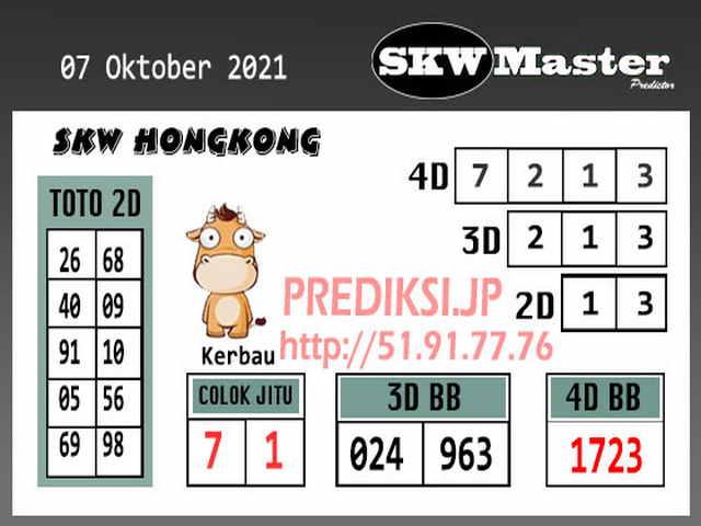 Syair hk 07 Oktober 2021