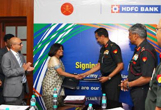 Defence Salary Package: MoU between Indian Army and HDFC Bank