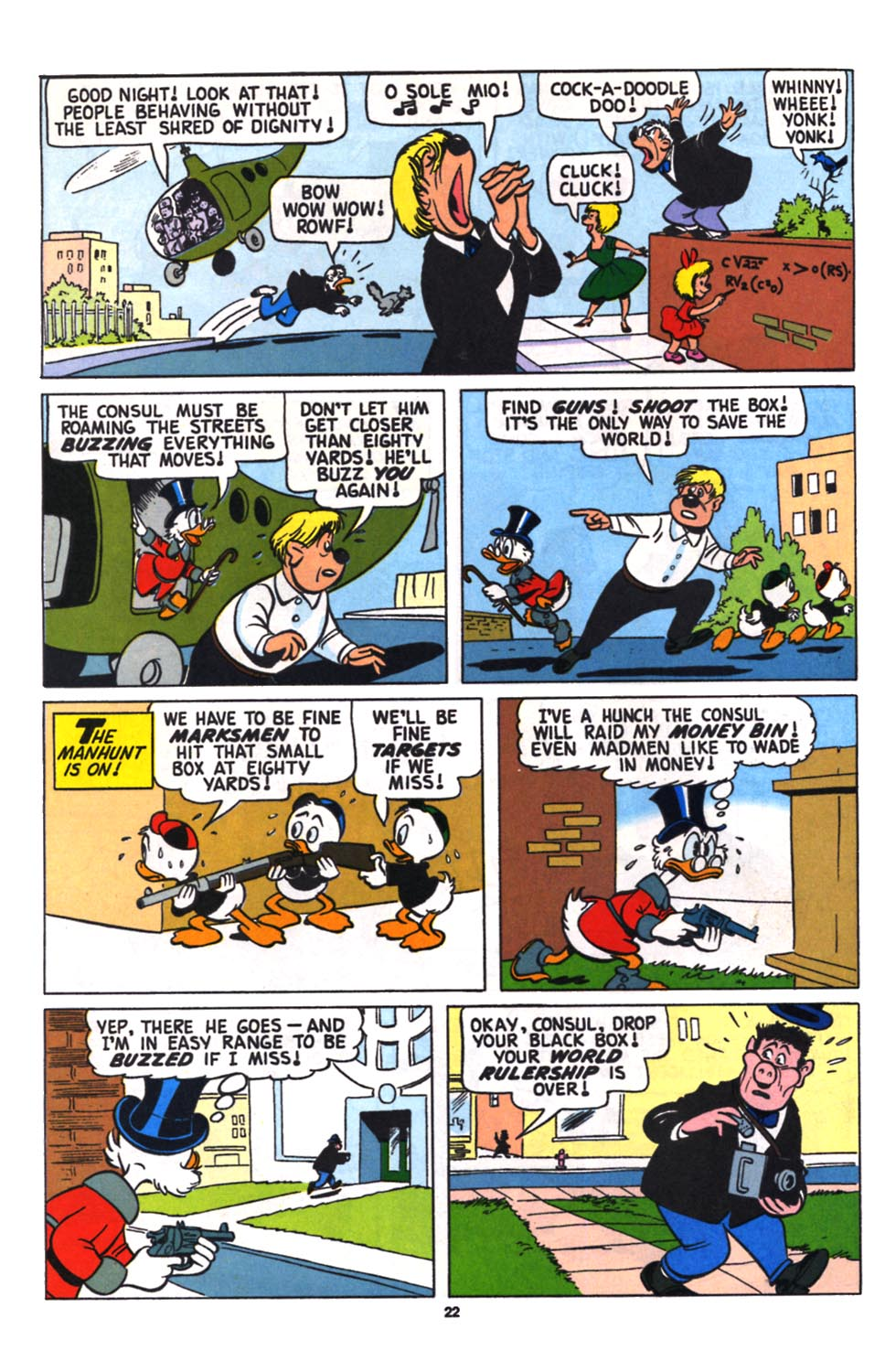 Read online Uncle Scrooge (1953) comic -  Issue #258 - 24