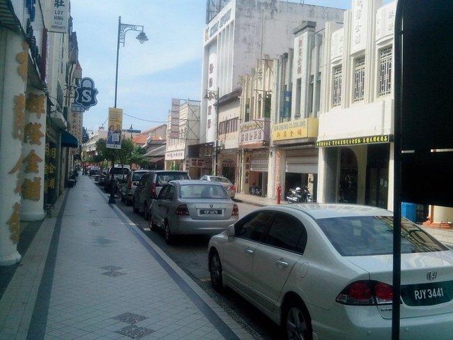пешеходный тротуар