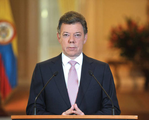 Santos prorroga cese al fuego con las Farc hasta el 31 de diciembre