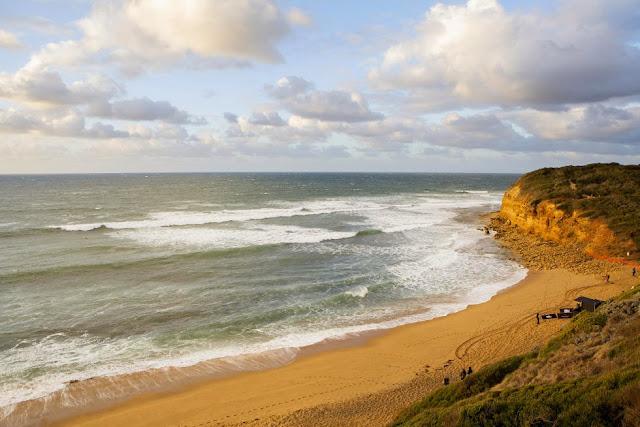 35 Rip Curl Womens Pro Bells Beach Bells Beach at dawn Foto WSL Kirstin Scholtz
