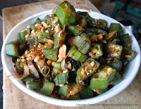 Vendaikkai Curry [ Okra Curry ]
